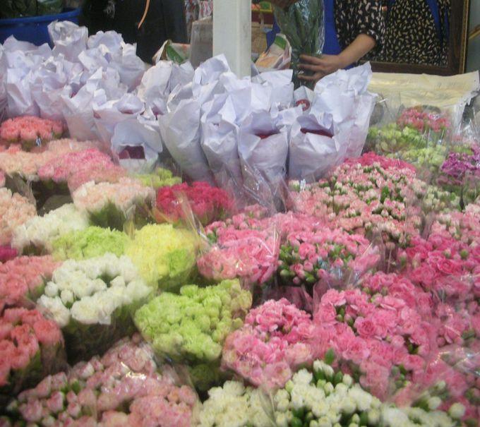 第9話 バンコク「パーククローン花市場」