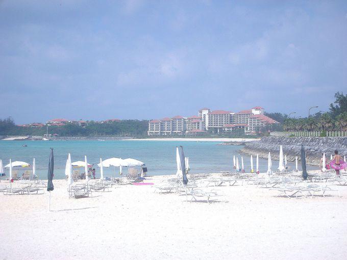 ホテルから直接、カートでプライベートビーチへ!