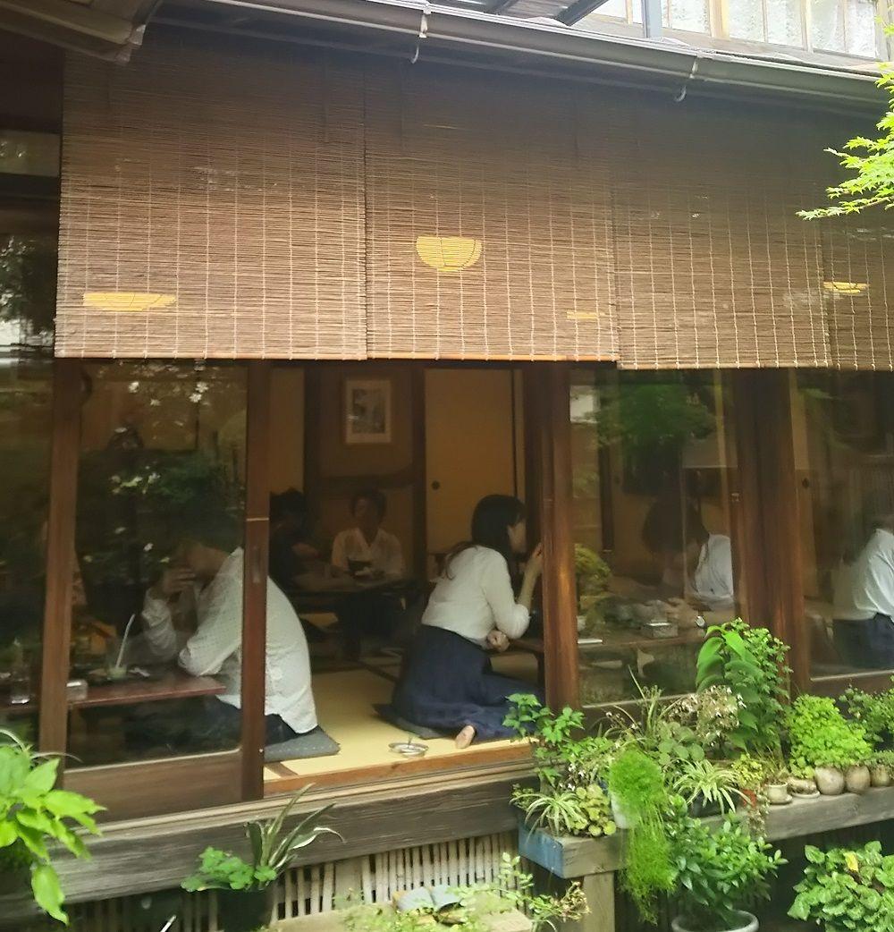ここ京都?自由が丘の古民家カフェ「古桑庵」