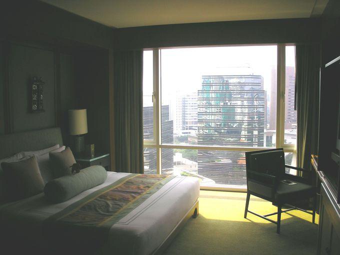 バンコクの景色を一望する45平米以上のひろびろ客室