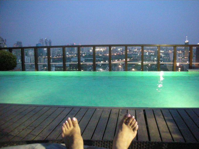 屋上の絶景プールが最高!アーバナランスアン