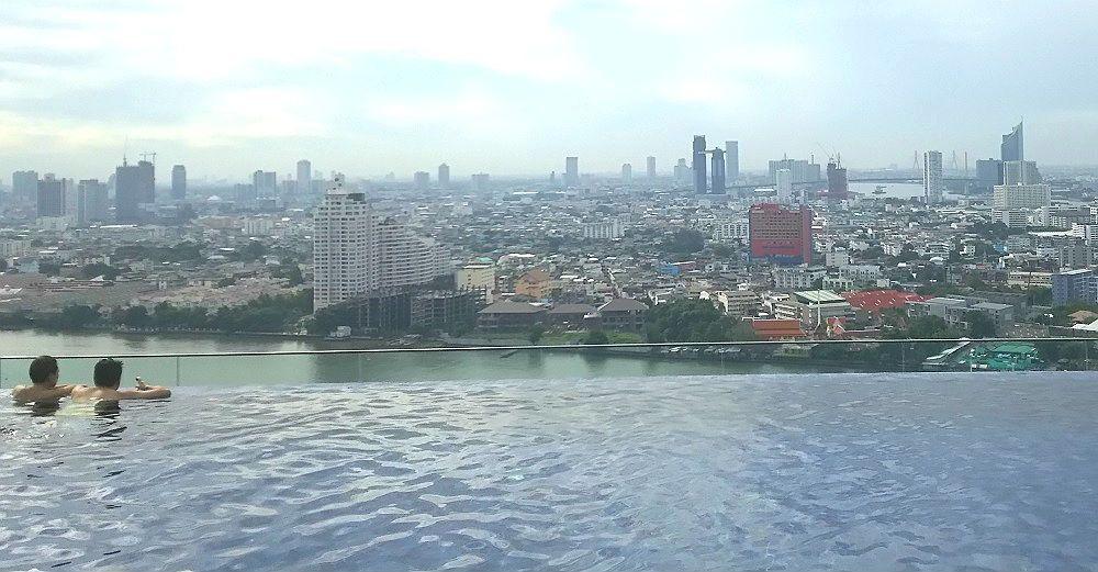 何時間いてもあきない…バンコクの景色を見て過ごす1日を!
