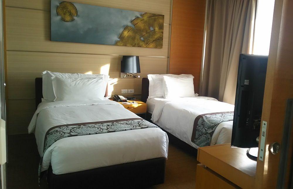 リビングとベッドルームが分かれたワンベットルームスイートでも1部屋9000円台