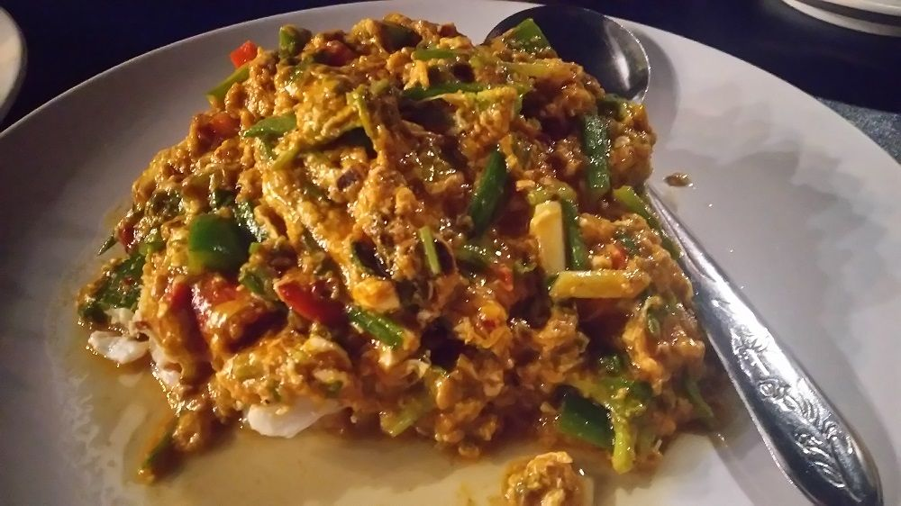 バンコクリバーサイドレストラン「ヨック・ヨー」は海老・蟹が安い!