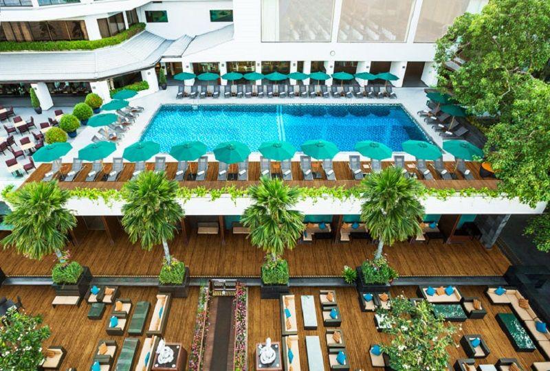 プールファン多し!バンコク・リバーサイドホテル「ロイヤルオーキッドシェラトン」