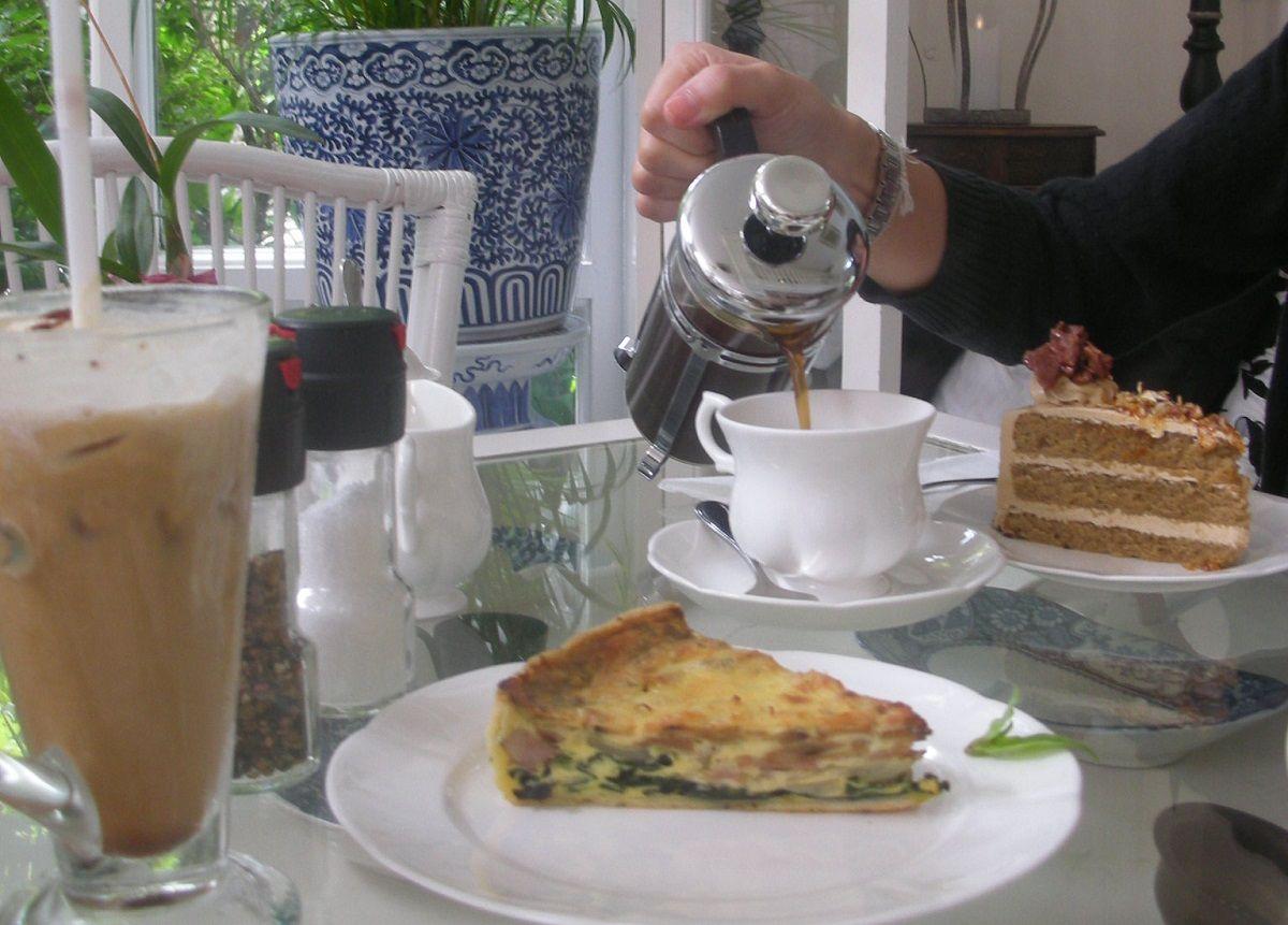 バンコクの秘密の花園?おしゃれカフェ「アガリコ」で王族気分の週末限定ティータイム!