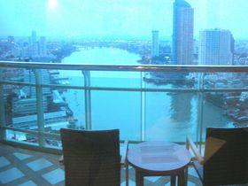 バンコク・リバーサイドホテル「チャトリウム」でチャオプラヤー川の絶景に包まれる