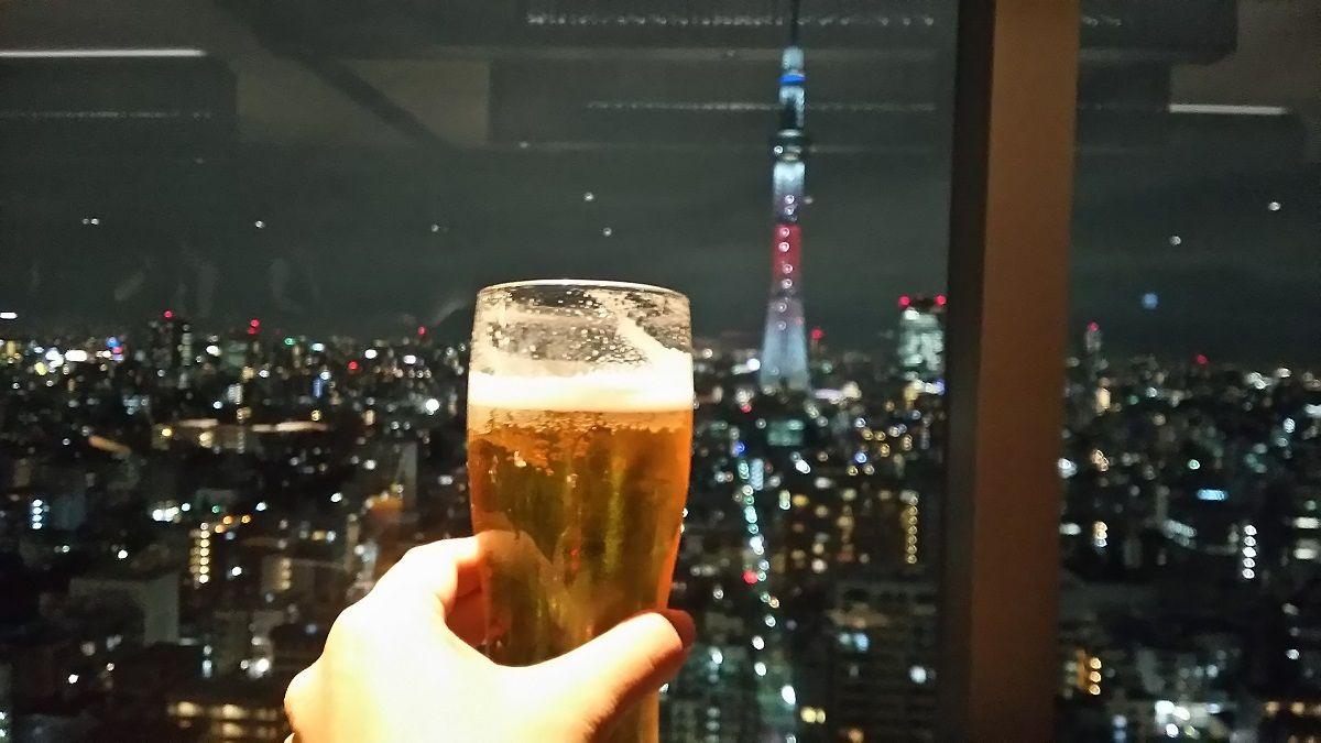 東京に灯るクリスマスキャンドル・赤!
