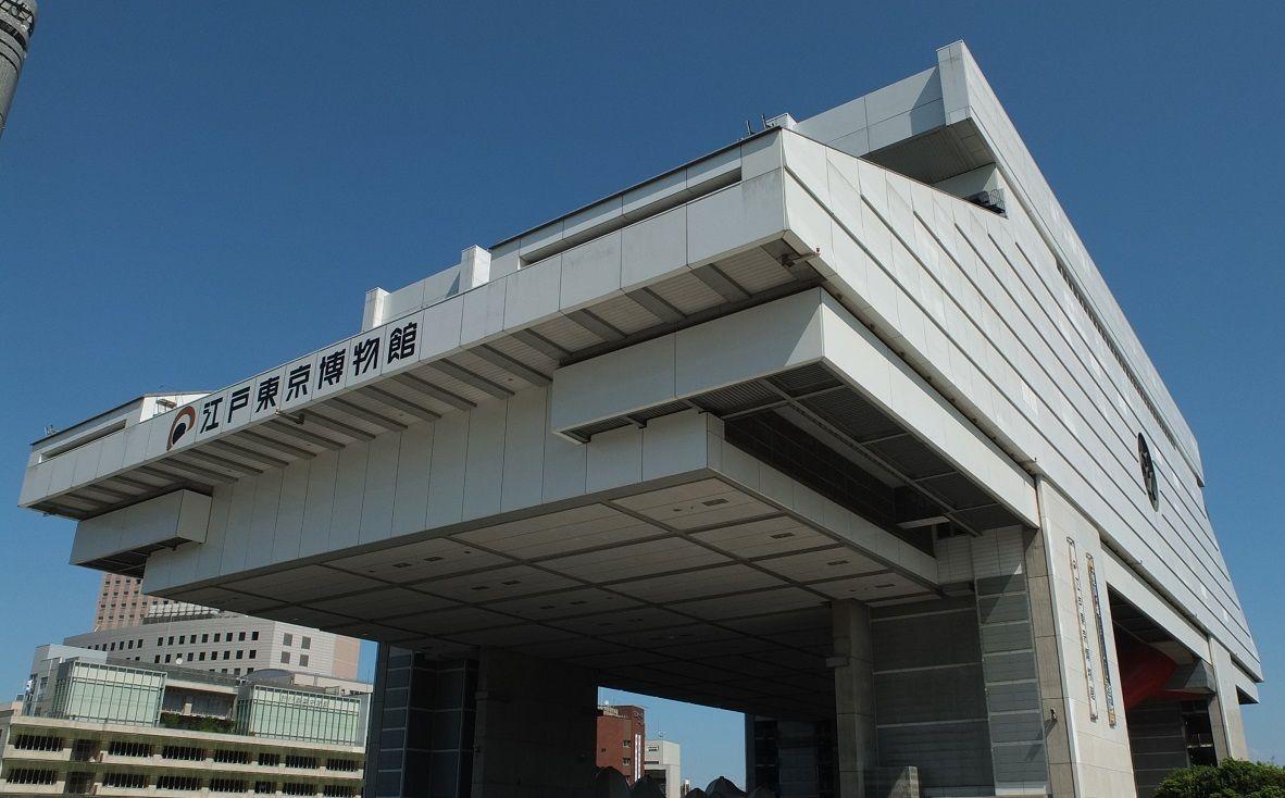 江戸東京博物館近くにある蕎麦の名店
