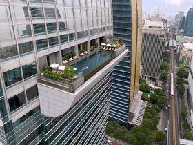 凄い!バンコクのホテル「オークラプレステージ」空中インフィニティプール