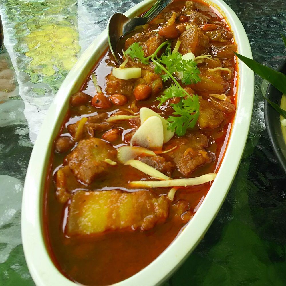安い!チェンマイ絶景レストランの料理