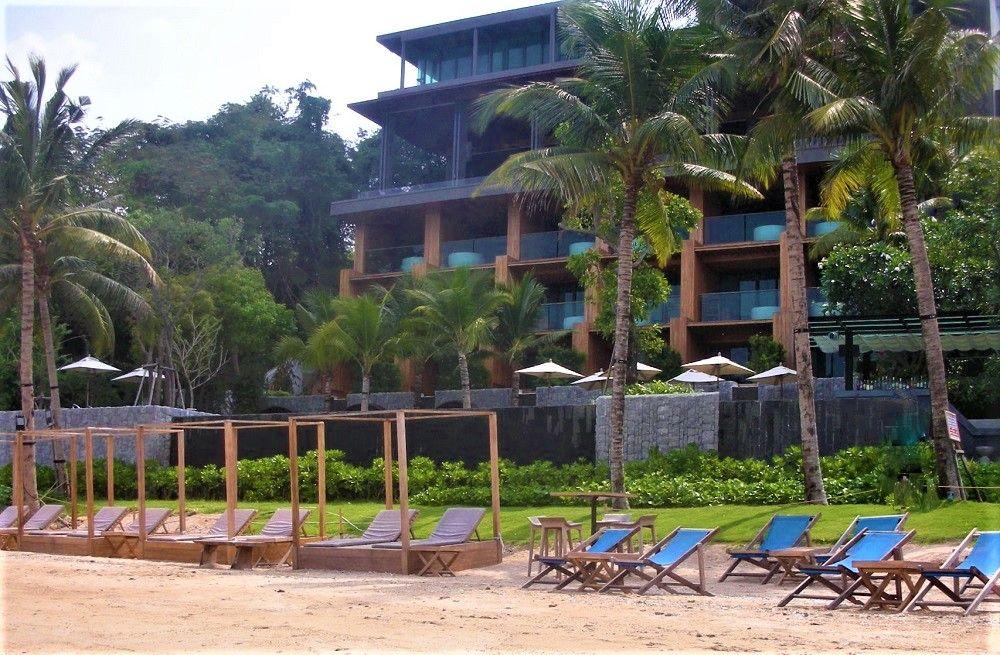 プライベートビーチもあるロマンティックなパタヤのホテル