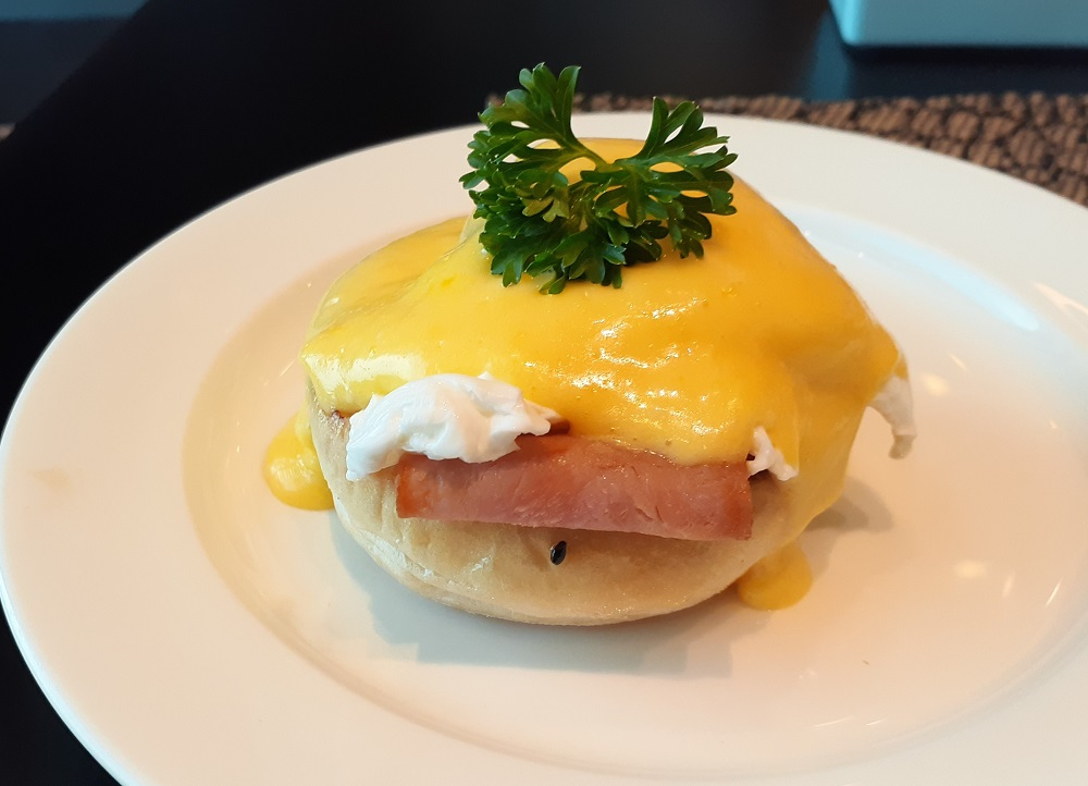 アラカルトもビュッフェも!クラブラウンジの朝食が豪華!