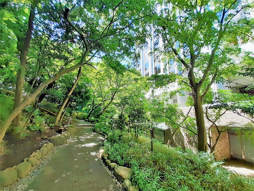 都会のオアシス・シェラトン都ホテル東京