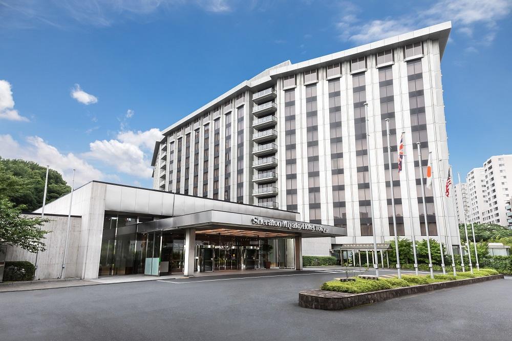 シェラトン都ホテル東京のクラブラウンジは和の趣き