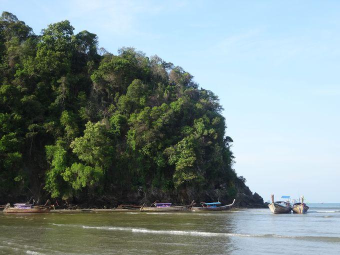 タイにこんな場所が?!岩壁が切り立つ絶景のクラビ