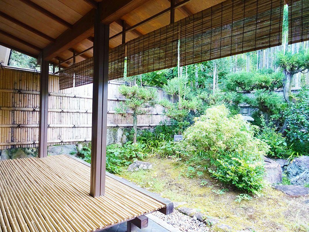 日本庭園でゆっくりとした時間を