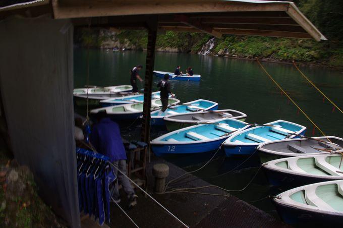 貸しボートに乗るには?