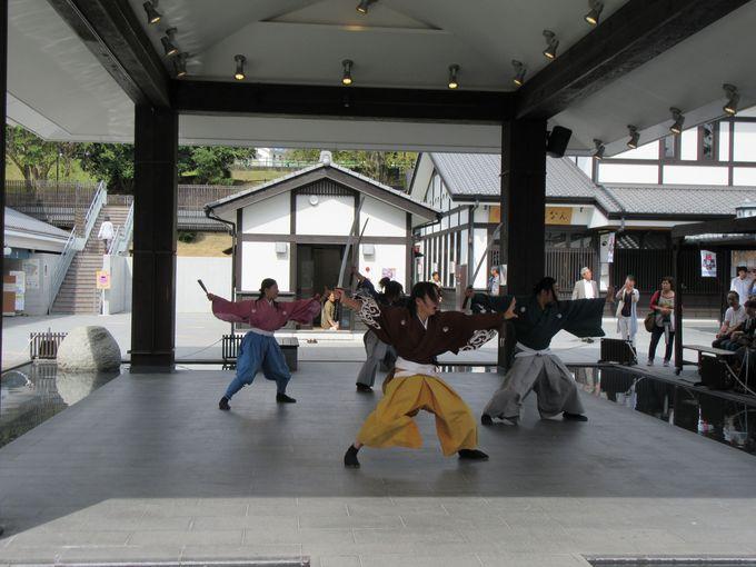 熊本城おもてなし武将隊の舞!