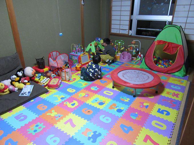 おもちゃがいっぱい!