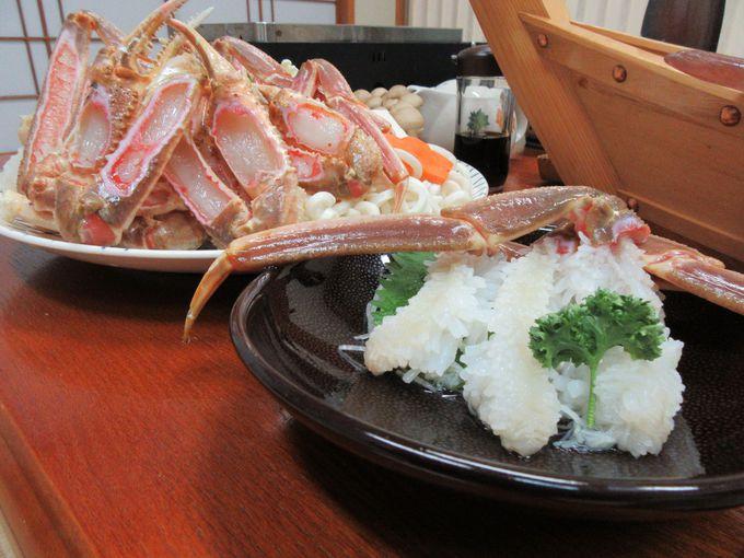 美味しくて新鮮な魚が自慢の「わたなべ館」冬はかにがおすすめ