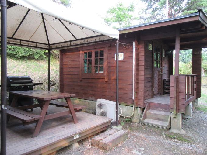 キャンプ場に宿泊しよう