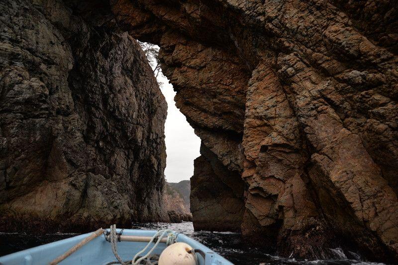 「海のトンネル」を抜ける!