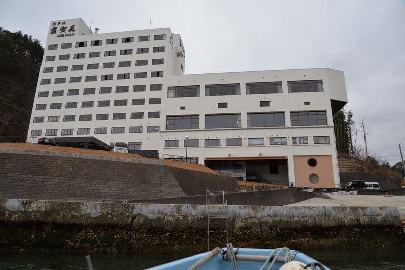 北山崎観光は「ホテル羅賀(らが)荘」がとても便利