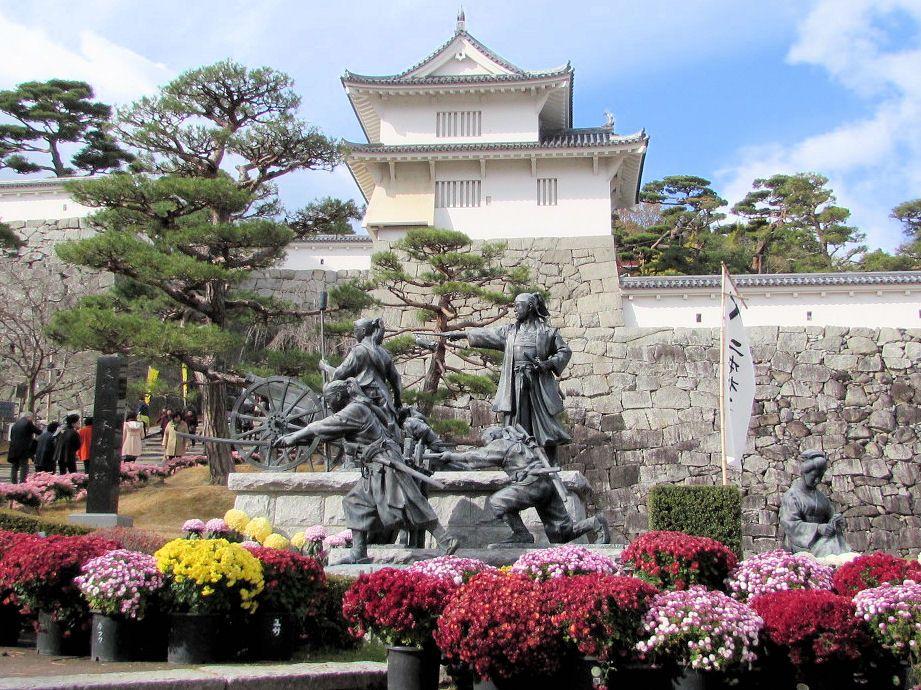 日本百名城の二本松城は「霞ヶ城公園」として復活