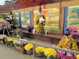 紅葉とのコラボで美しさ倍増!福島「二本松の菊人形」は日本最大級の菊の祭典