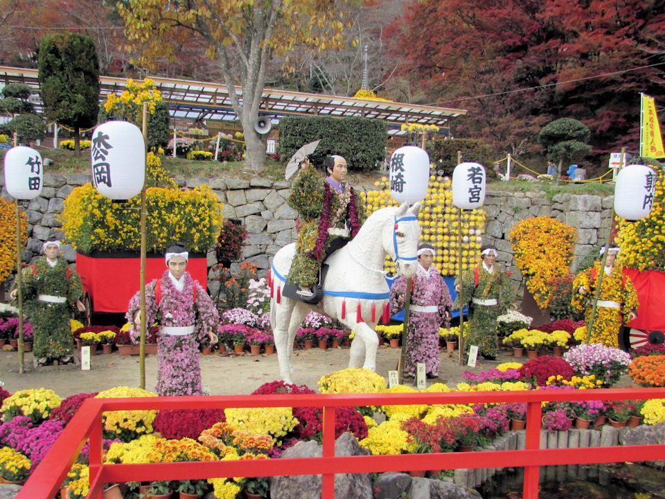 60年以上の歴史を誇る「二本松の菊人形」は日本最大級