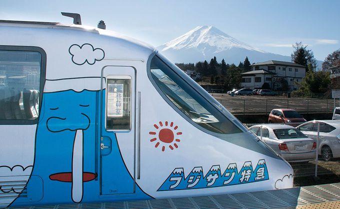 富士山駅で列車と富士山のコラボ写真を撮ろう!