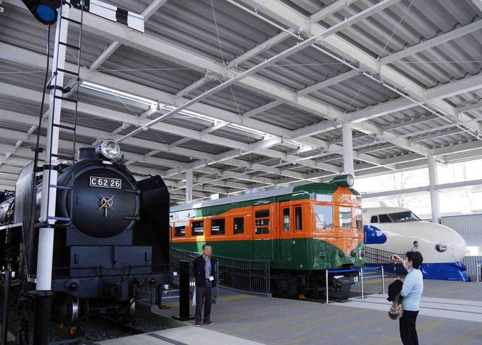 京都駅から徒歩20分:京都鉄道博物館