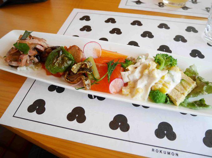 「ろくもん」のランチは、軽井沢・沢屋のレストラン「こどう」のオードブルからスタート!