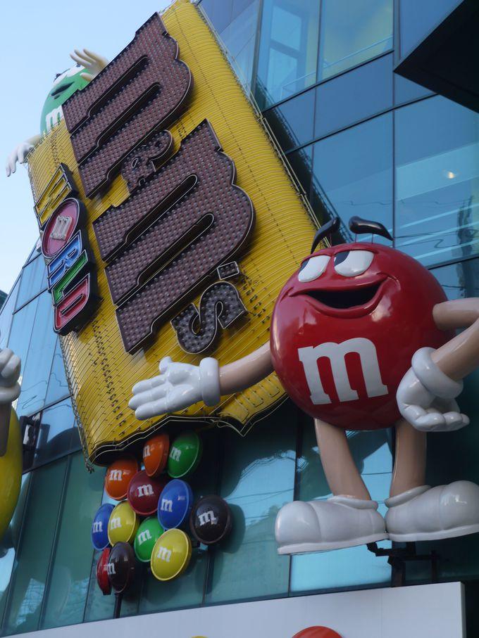 5.HERSHEY'S/m&m's/Coca-Colaショップ