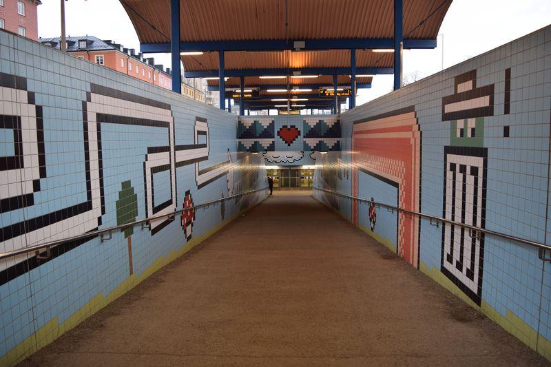 まるで美術館?ストックホルムのアートな地下鉄駅大集合!