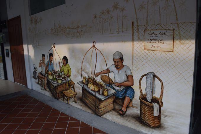 ホテルから徒歩圏内の観光名所「アラブ・ストリート」