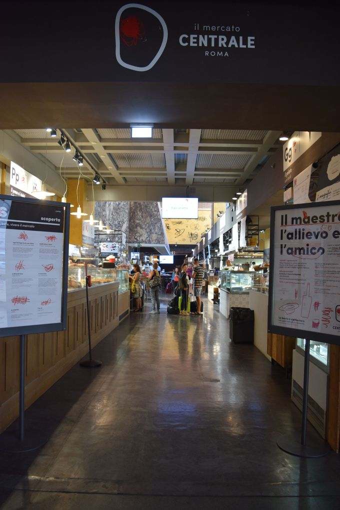 使える!駅ナカで便利でキレイな「メルカート・チェントラーレ・ローマ」