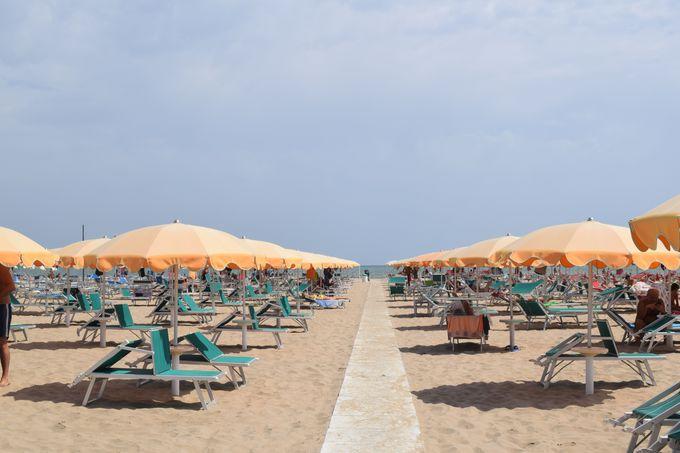 アドリア海の最大のビーチリゾート!