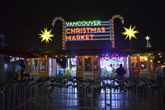 2010年から開かれているクリスマスマーケット!