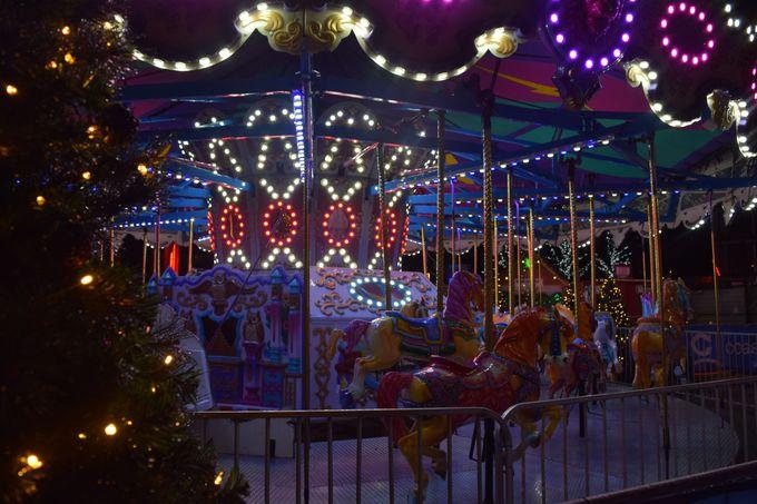 クリスマスの雰囲気満点!歩いているだけで楽しいマーケット