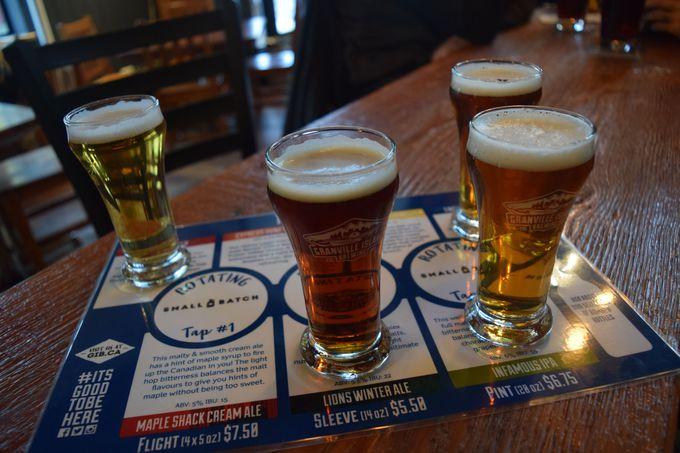 ビール好きなら行くべき!「グランビル・アイランド・ブリューイング」