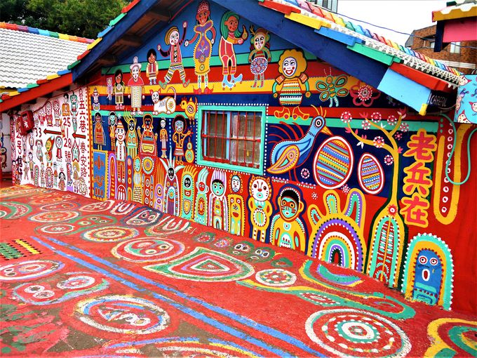 村を虹色にしたストーリー