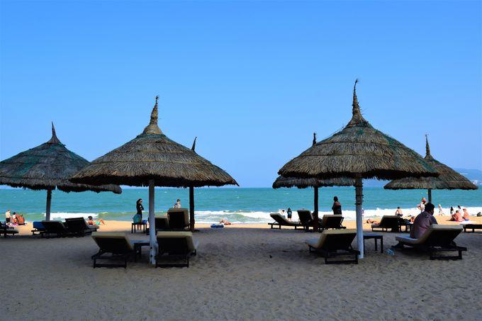オススメNO.1!リゾート感満載の「ニャチャンビーチ」