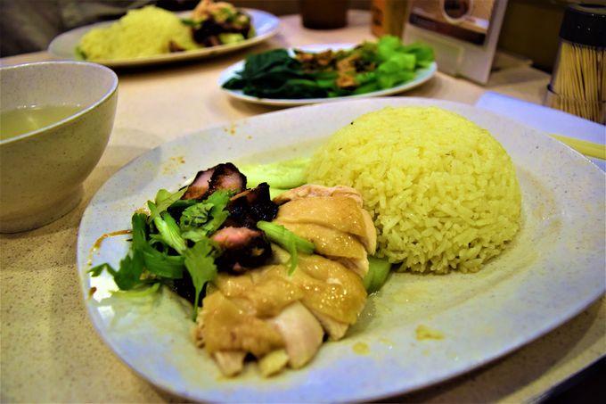 クアラルンプールで1番の「南香」の名物チキンライス