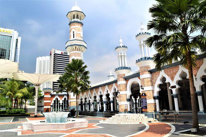 クアラルンプール最古のモスク「マスジッド・ジャメ」でモスクを体験しよう!