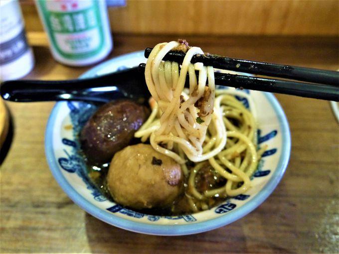 台南名物代表は担仔麺!カップ麺の元祖意麺にも注目!