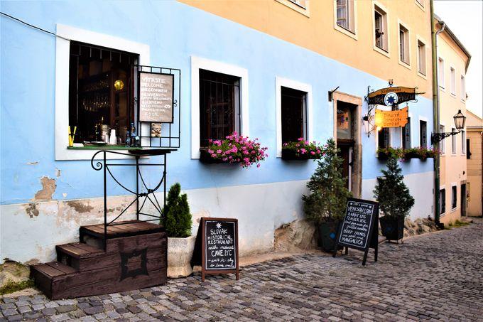 ブラチスラバでの食事なら「Modra Hviezda」