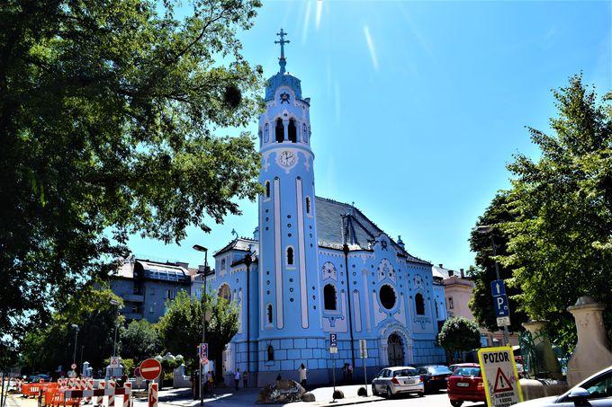 2.聖アルジュベタ教会/ブラチスラバ