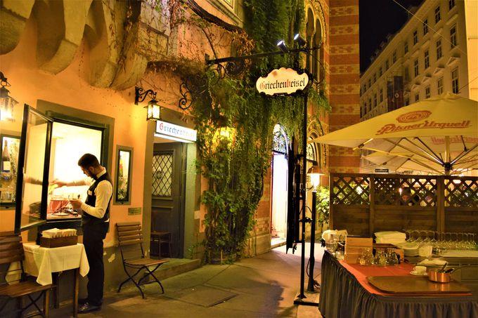 ウィーン最古のレストラン!「グリーンヒェンバイスル」